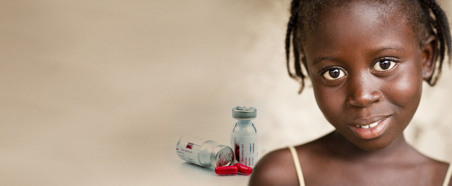 girl and medicines