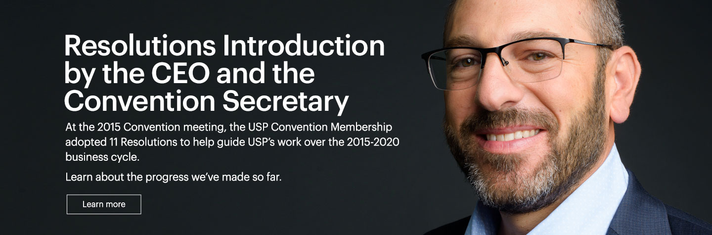 Title: Resolutions Introduction by the CEO and the Convention Secretary