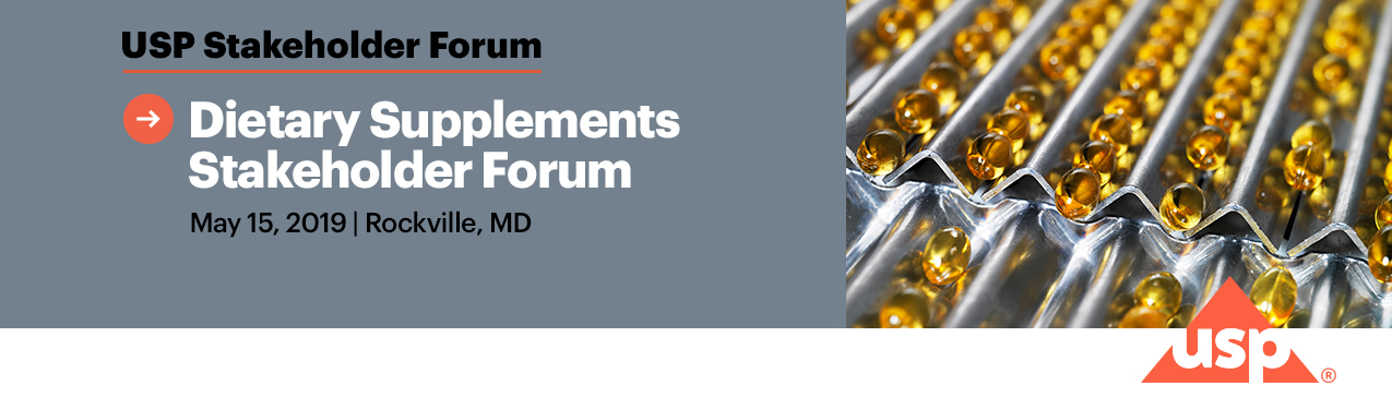 Dietary Supplements Stakeholder Forum