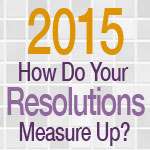 2015 How Do Your Resolutions Measure Up?