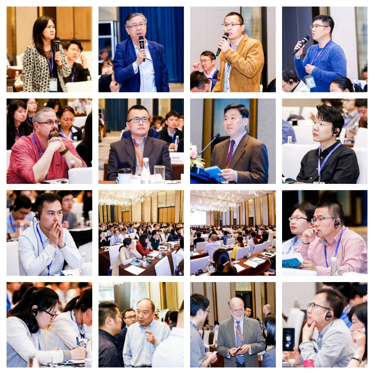 Exchange during the forum, and audiences were deeply absorbed by the topics