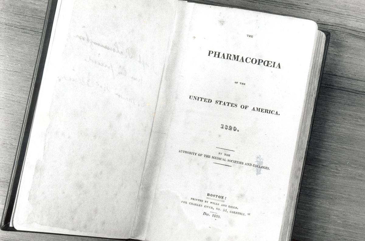 1820 farmacopea