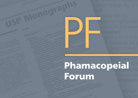 Pharmacopoeial forum