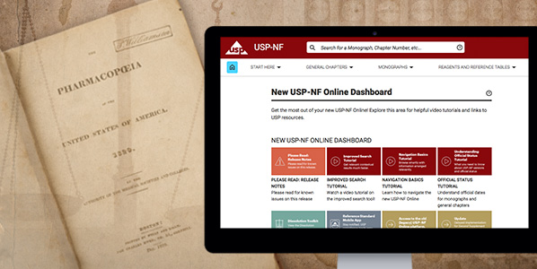 the new USP-NF and old US Pharmacopoeia