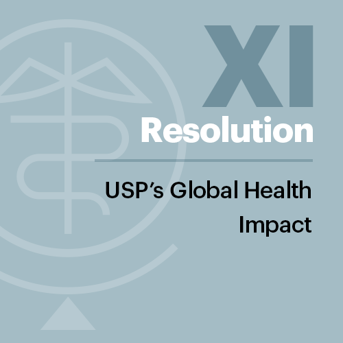 Resolution XI: USP's Global Health Impact