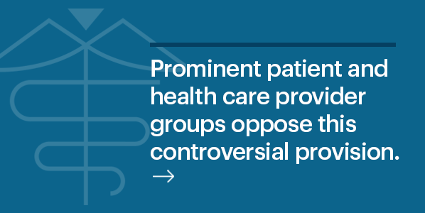 prominent patient safety groups oppose this legislation